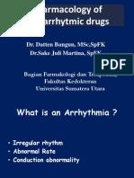 Pharmacology of Antiarrhytmic Drugs