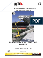 Manual de Mantenimiento Manlift .pdf