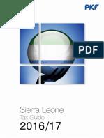 Sierra Leone Tax Guide 2016 17