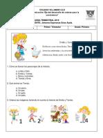 Pruebas Trimestrales  Grado Primero 2019 Primer Periodo Académico.docx