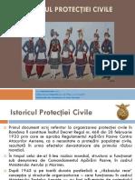 Istoricul Protecţiei Civile