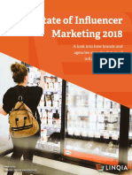 Linqia the State of Influencer Marketing 2018