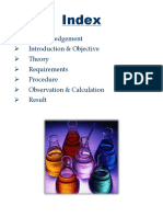 EXPERIMENT REPORT PFILE of Amount of Oxalate Ion