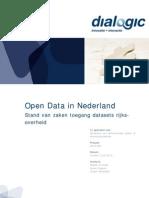 Open Data in Nederland