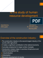 To the Study of Human Resource Development