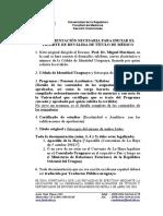 Uruguay Documentación Necesaria Para Iniciar El Tramite de Revalida Medicina