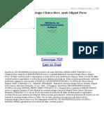 Manual de Neuropsicologia Clinica