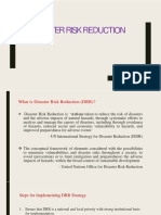 Disaster Risk Reduction -1