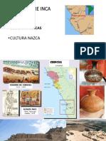 Culturas Pre-incas y Su Evolucion Hidrica