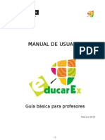 Manual Educarex