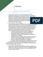 Ideología de Género - Resumen de Modelos Por Ana Ruth Quesada B.