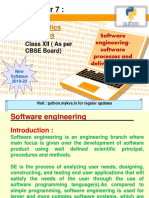 Software Engineering-software Processes and Delivery Models