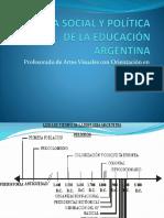 Historia Social y Política de La Educación Argentina
