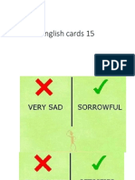English Cards 15