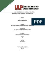 ACTIVIDAD N2 Metodologia de La Investigacion