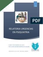 Relatoria Urg Psiquiatria