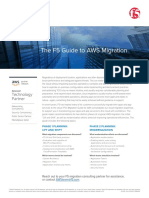 The f5 Guide to Aws Migration