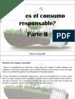 Nestor Chayelle - ¿Qué Es El Consumo Responsable?, Parte II