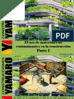 Armando Iachini - El Uso de Materiales No Contaminantes en La Construcción, Parte I