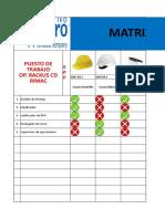 Matriz EPP CD Rimac