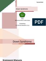 Tutorial 4 endokrinologi -picu down syndrome Novia.pptx
