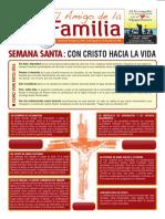 EL AMIGO DE LA FAMILIA 14 ABRIL 2019