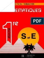 Terracher Coll._mathématiques 1re S Et E Analyse 1987