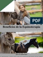 Alejandro Jesús Ceballos Marquez - Beneficios de LaEquinoterapia