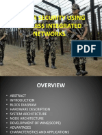 Border Security Using Integrated Wireless Network