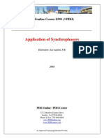 Application of Synchrophasors