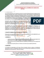 Auditor Interno ISO 22000 2018
