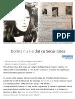 Dorina nu s-a dat cu Securitatea.doc