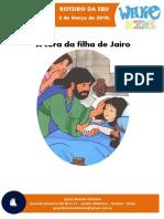 Licao Ebd 03 -A Filha de Jairo