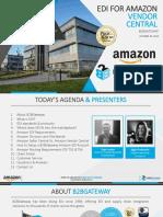 EDI for Amazon Vendor Central