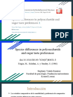 Species Differences in Polysaccharide and Sugar Taste Preferences Doi_10.1016_S0149-7634(87)80031-3