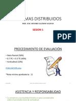 Sesion 1 - Sistemas Distribuidos - Intro