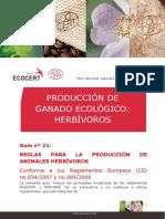 PRODUCCIÓN DE GANADO ECOLÓGICO