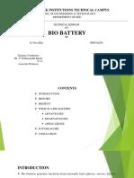 Bio Battetry 2
