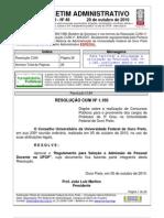 Boletim Administrativo n 46 2010 (1)