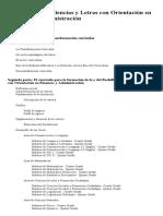 Bachillerato en Ciencias y Letras Con Orientación en Finanzas y Administración - CNB