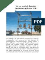 El banco Yd en la distribución de energía eléctrica.docx