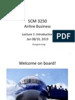SCM 3250 Lecture 1