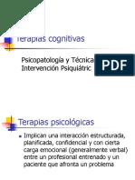 terapias cognitivas
