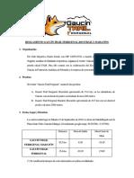 Regalamento Oficial Gaucín Trail 2019 - (Versión 1)