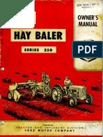 277. Uputstvo za korištenje prese za sijeno Ford 250.pdf