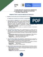 Plan de Impacto Frontera - Versión Medios de Comunicación