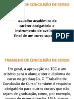 001 - Instruções Para Tcc