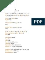 Blank Character Sheet Copy