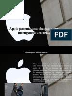 Jesús Augusto Sarcos Romero - Apple Patenta Una Chaqueta Con InteligenciaArtificial