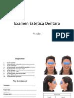 Estetica dentara EXAMEN CLINIC